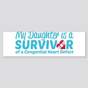 CHD Survivor - Daughter Bumper Sticker